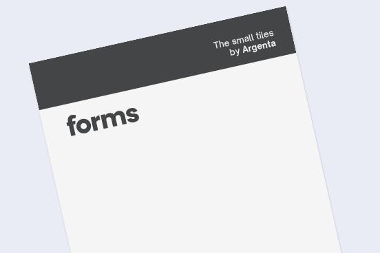 Catálogo Forms